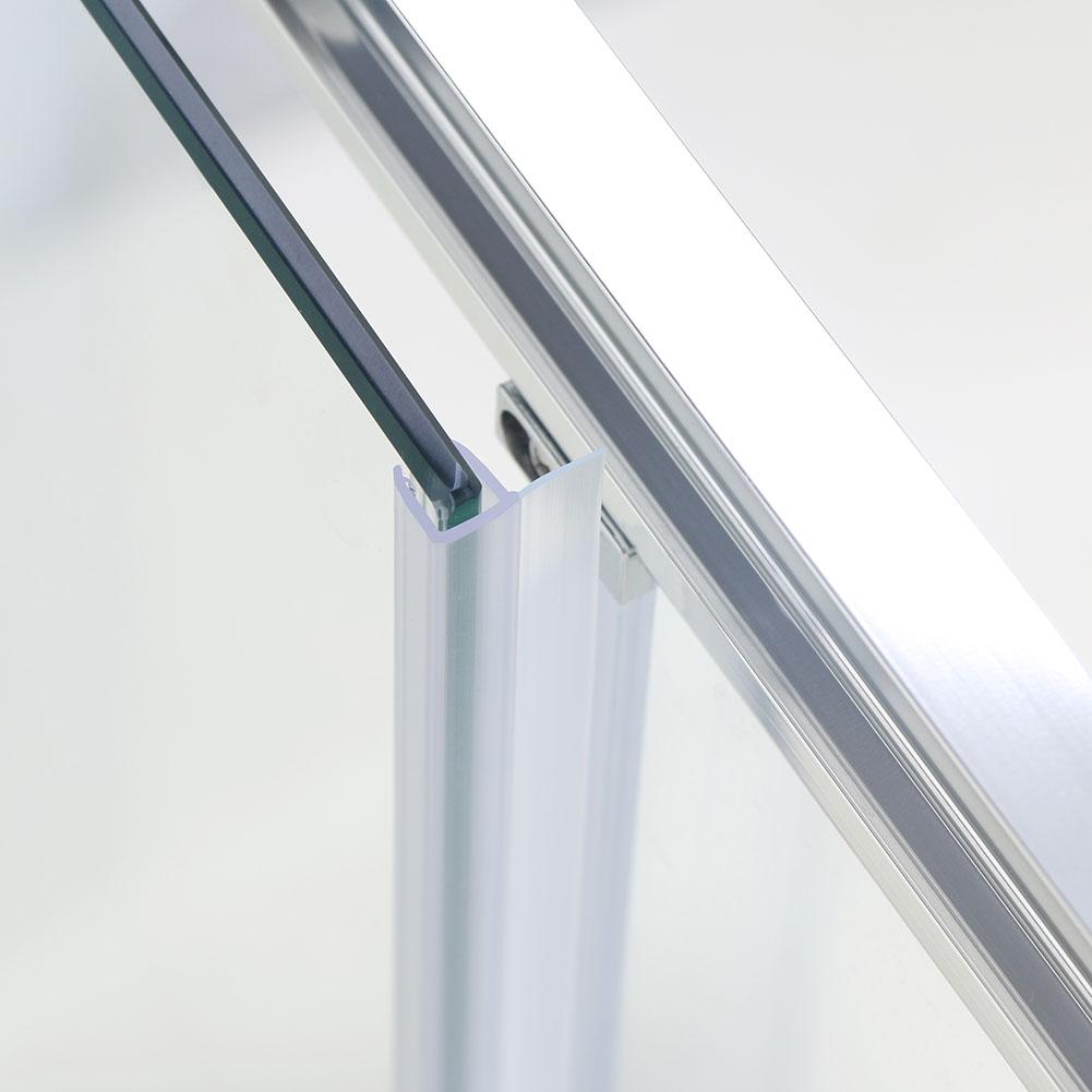 1200x700mm Sliding Shower Enclosure Screen Glass Cubicle