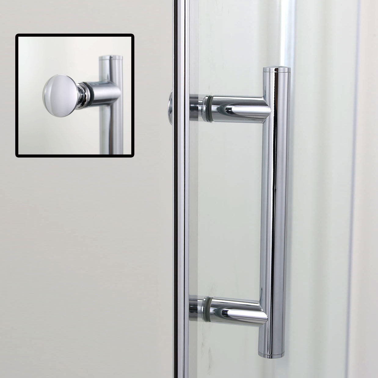 900x1850mm frameless pivot shower doors hinge screen glass enclosures cubicle ebay