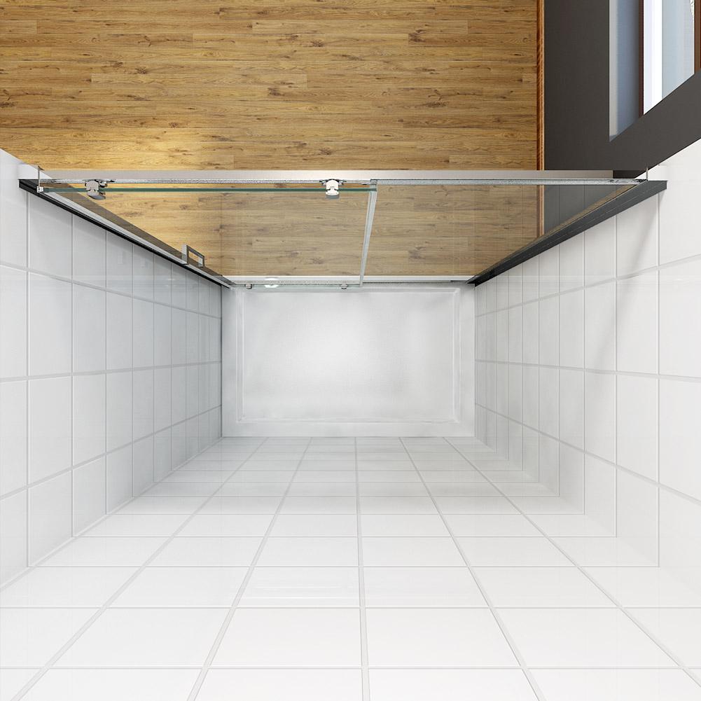 Bathroom Shower Glass Sliding Door Rollers Top amp Bottom
