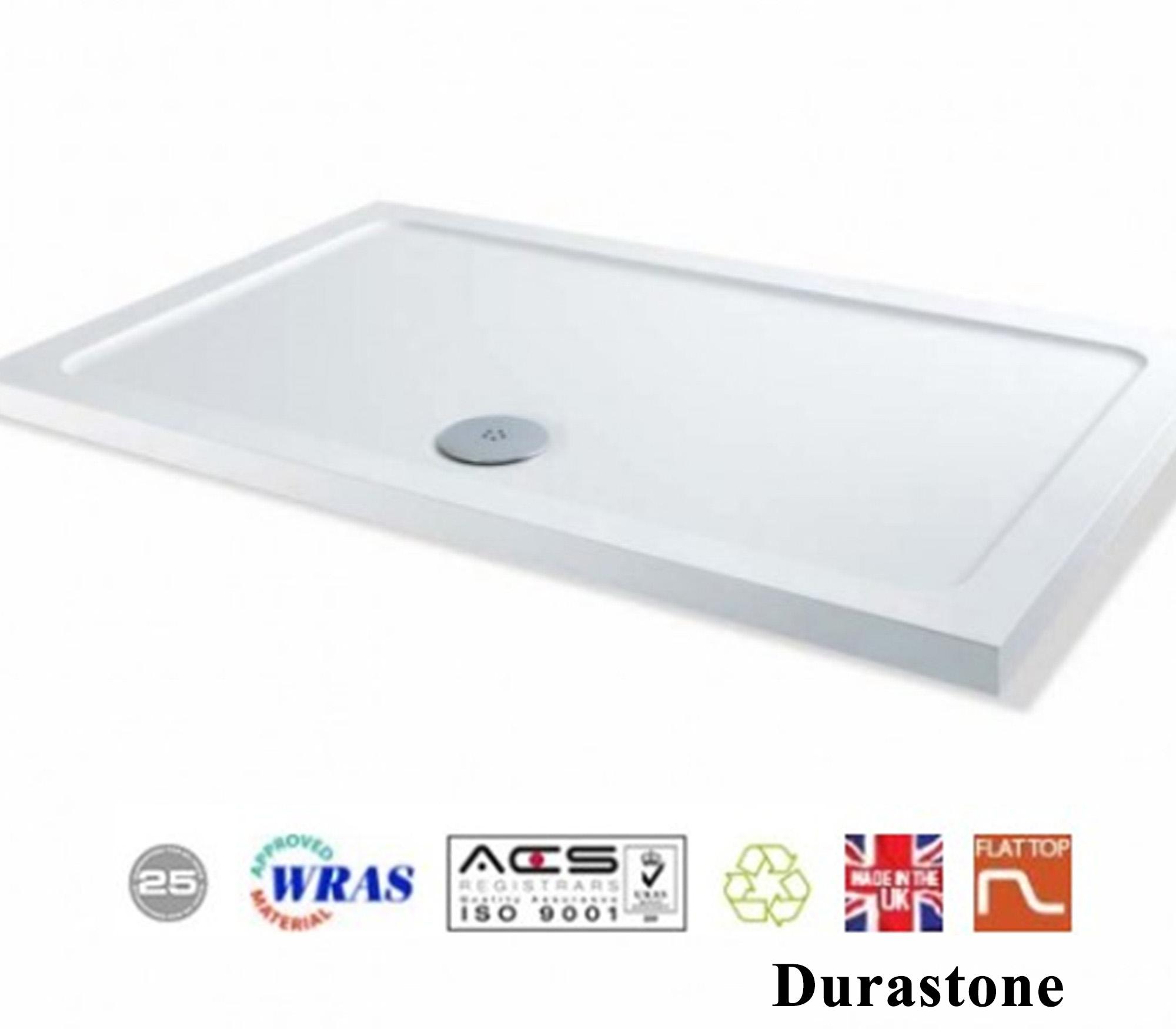 1100x760mm Sliding Shower Door Enclosure Glass Screen Side