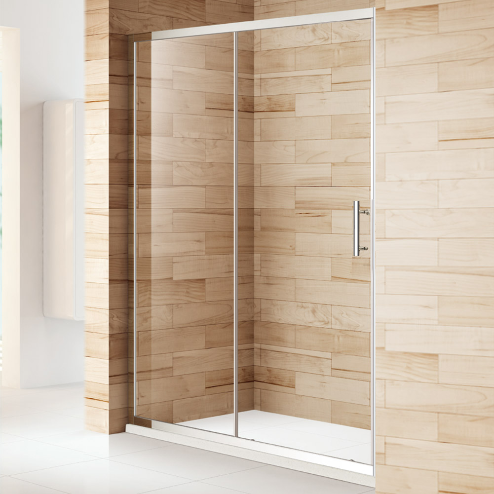Walk in 1000 1100 1200 1300 1400 1500mm sliding shower for 1200 shower door
