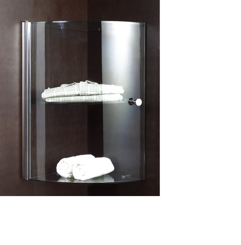 8mm glass shelf corner storage for bathroom shower - Bathroom accessories glass shelf ...